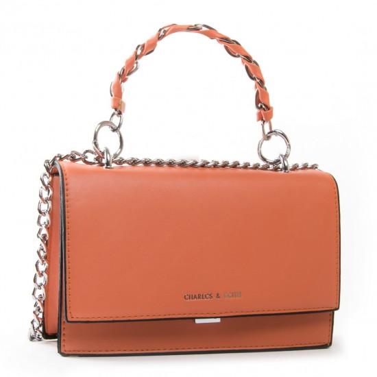 Женская сумочка-клатч FASHION 18572 оранжевый