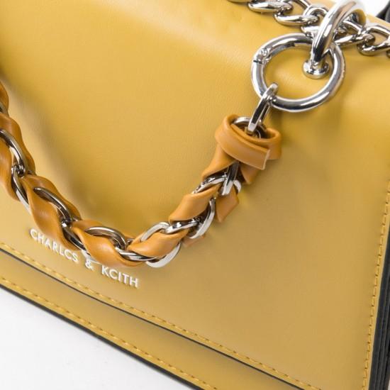 Жіноча сумочка-клатч FASHION 18572  желтый
