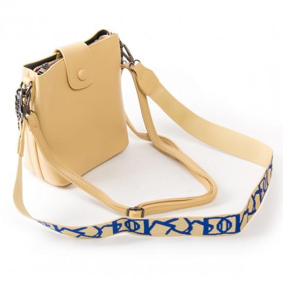 Женская сумочка-клатч FASHION 17053 желтый