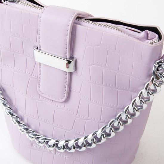 Женская сумочка-клатч FASHION 16909 сиреневый