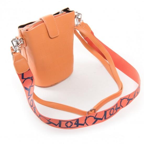 Женская сумочка-клатч FASHION 16909 помаранчевий