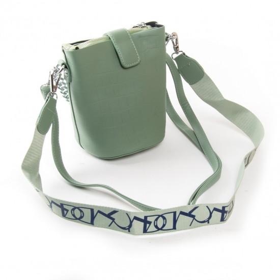 Женская сумочка-клатч FASHION 16909 м'ятний