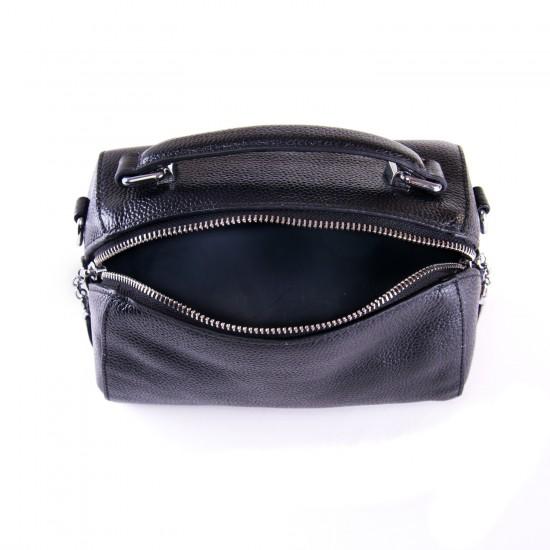 Жіноча сумочка з натуральної шкіри ALEX RAI 29018 чорний