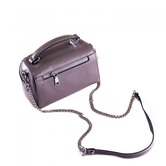 Женская сумочка из натуральной кожи ALEX RAI 29018 бронзовый