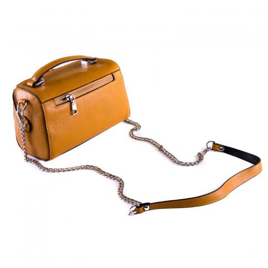 Женская сумочка из натуральной кожи ALEX RAI 29018 желтый