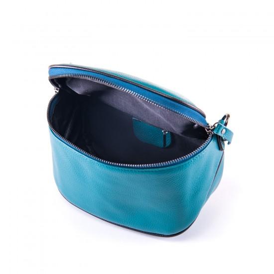Женская сумочка из натуральной кожи ALEX RAI 39033 синий