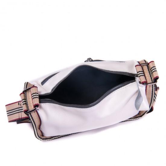Женская сумочка из натуральной кожи ALEX RAI 39034 белый