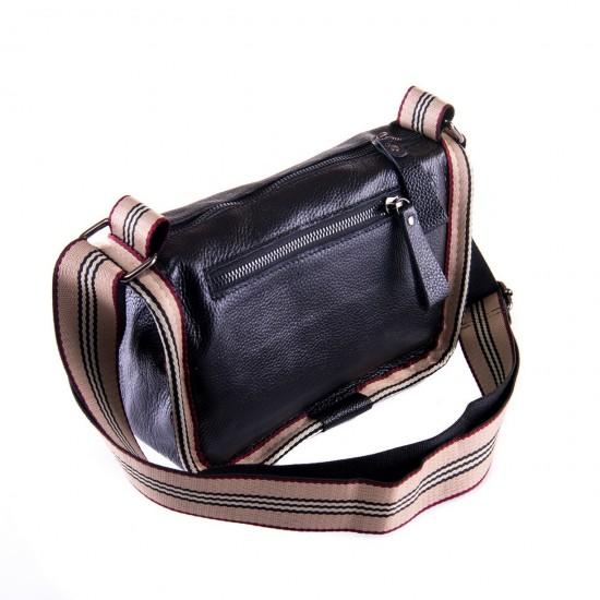 Женская сумочка из натуральной кожи ALEX RAI 39034 черный