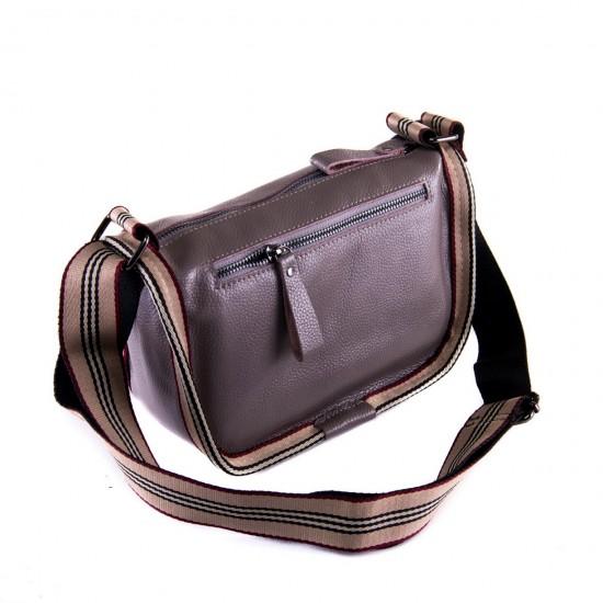 Жіноча сумочка з натуральної шкіри ALEX RAI 39034 бронзовий