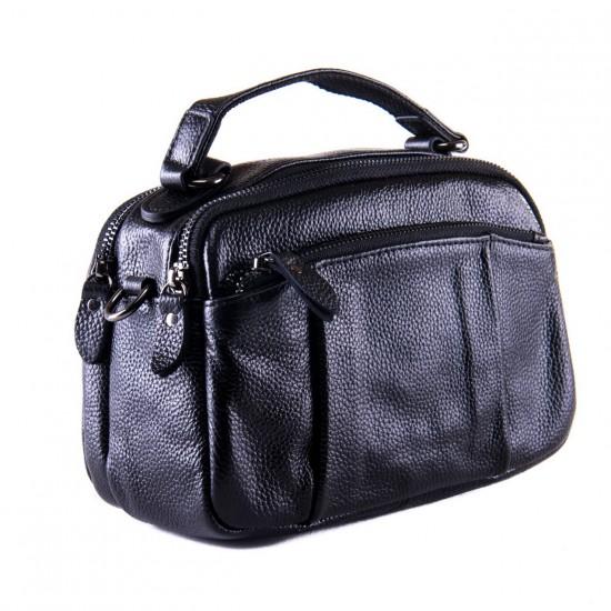 Женская сумочка из натуральной кожи ALEX RAI 2903 черный