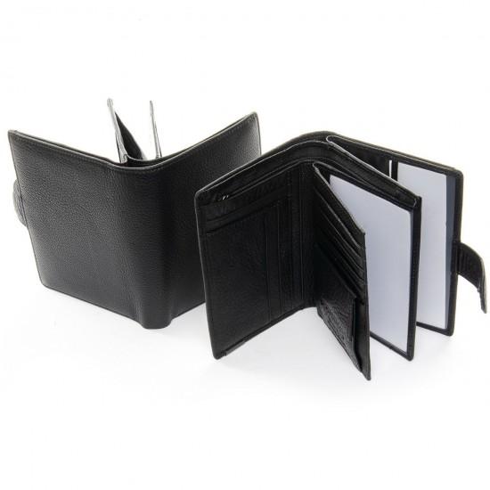 Мужской кожаный портмоне BRETTON BE 208-3104-5 черный