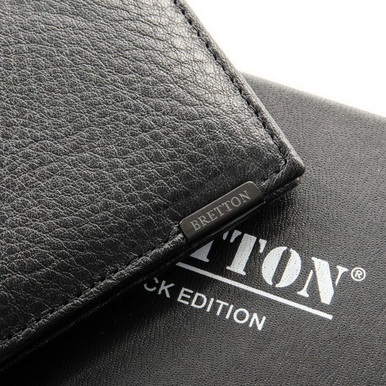 Чоловічий шкіряний портмоне BRETTON BE 168-24C чорний