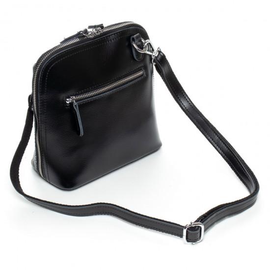 Женская сумочка-клатч из натуральной кожи ALEX RAI 8803 1  черный