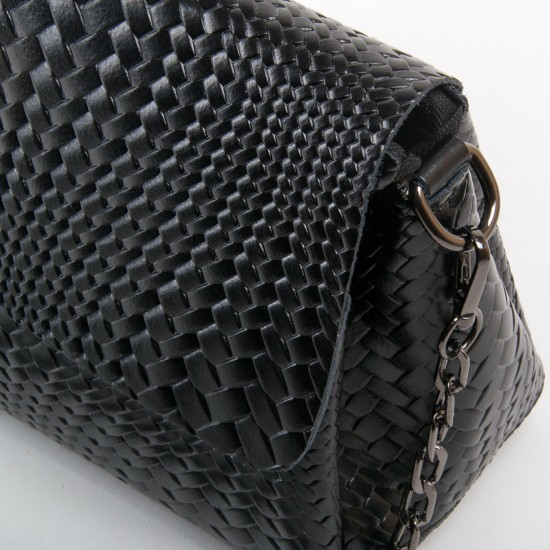 Жіноча сумочка з натуральної шкіри ALEX RAI J009-1 чорний