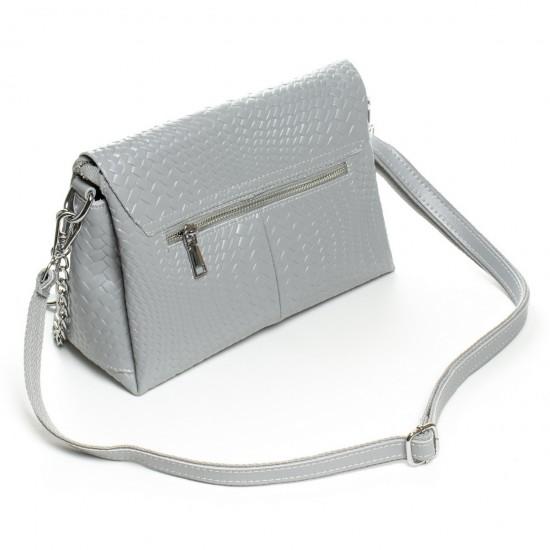 Жіноча сумочка з натуральної шкіри ALEX RAI J009-1 сірий