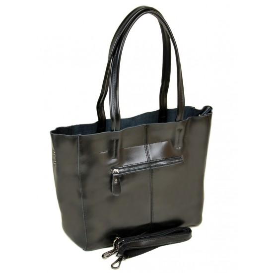 Женская сумка из натуральной кожи ALEX RAI 8630 черный