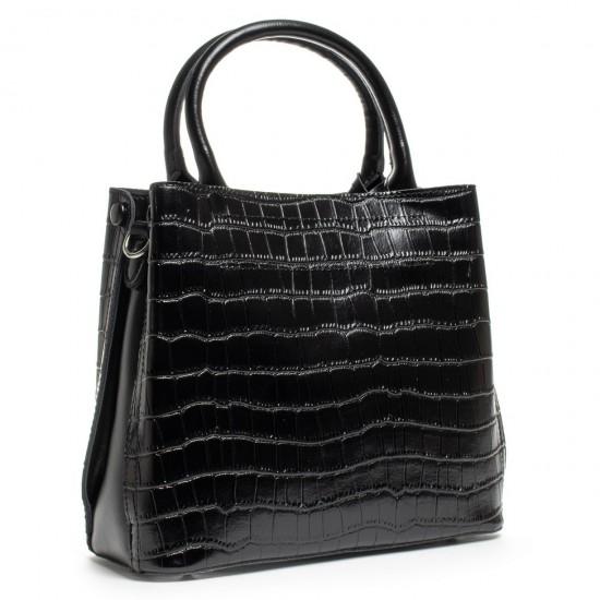 Женская сумка из натуральной кожи ALEX RAI 1546 черный