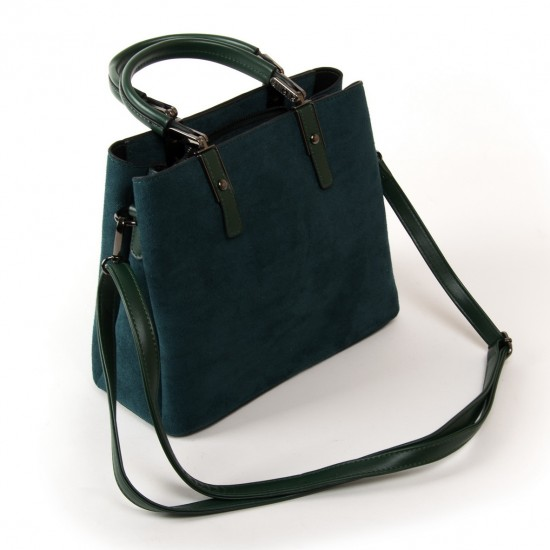 Жіноча модельна сумка з замша FASHION 2802 зелений