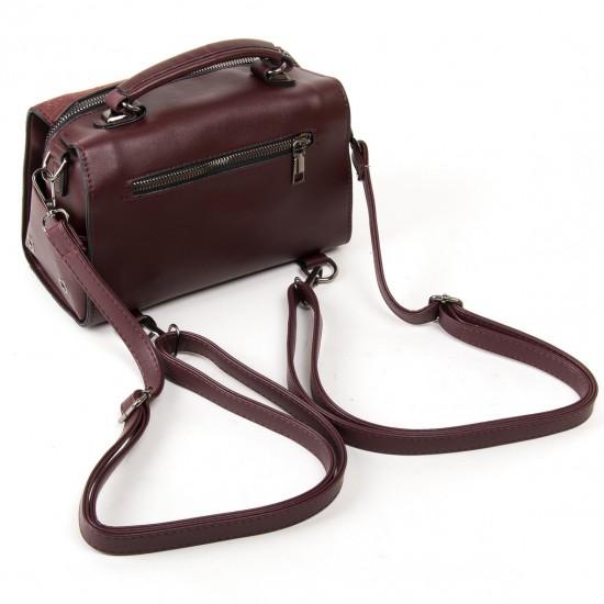 Жіноча модельна сумка з замша FASHION 53377 кавовий