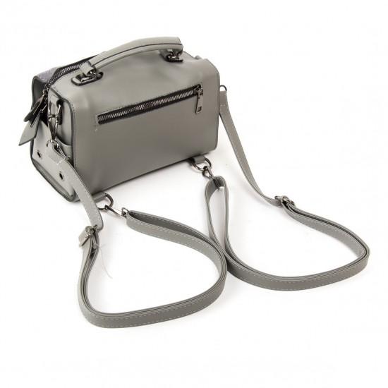 Жіноча модельна сумка з замша FASHION 53377 сірий