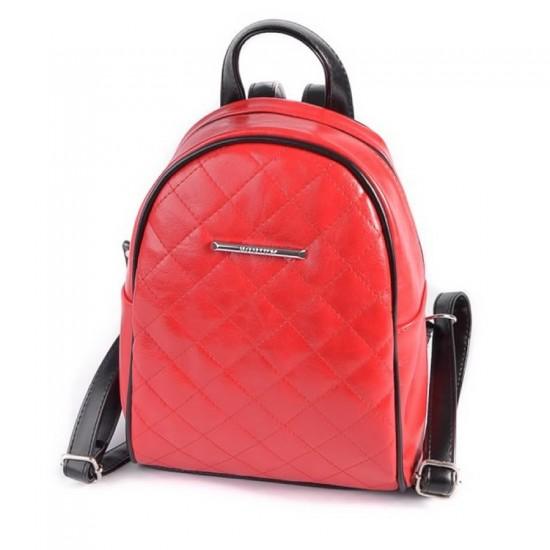 Жіночий міні-рюкзак LARGONI 209 червоний