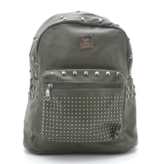 Женская рюкзак FASHION B-09-1 зеленый