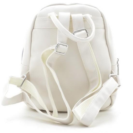 Женская рюкзак FASHION 8650 бежевый