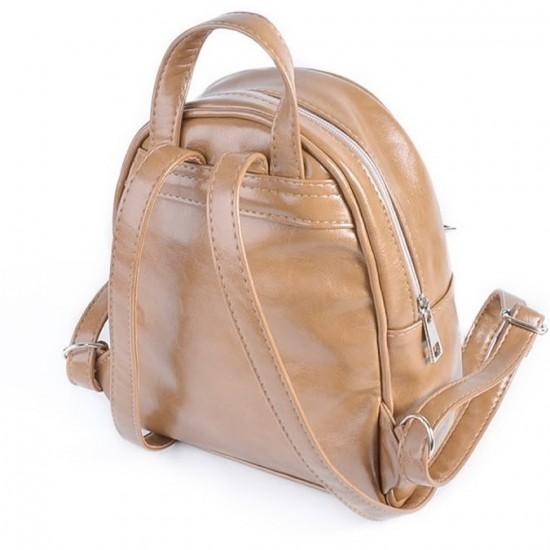 Жіночий міні-рюкзак LARGONI 124 капучіно