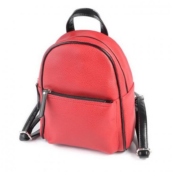 Женский мини-рюкзак LARGONI 124 красный