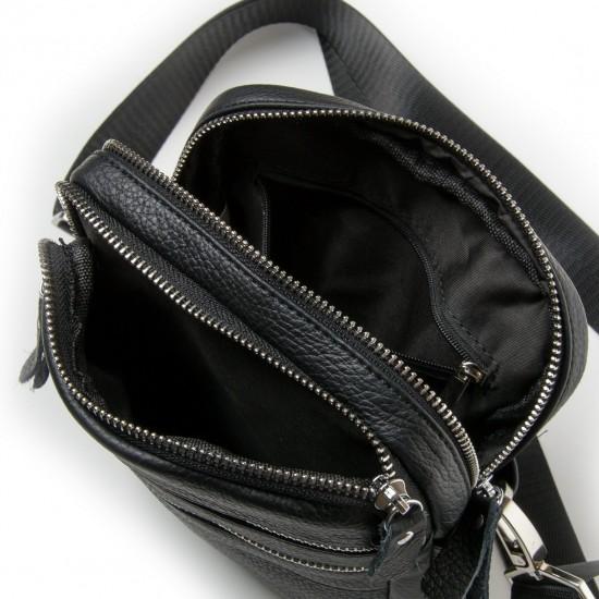 Мужская сумка-планшет из натуральной кожи dr.Bond 20128 черный
