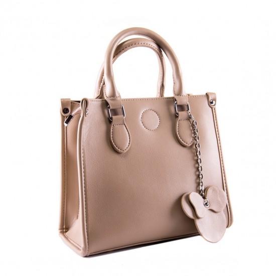 Женская сумочка на три отделения FASHION 6118 хаки