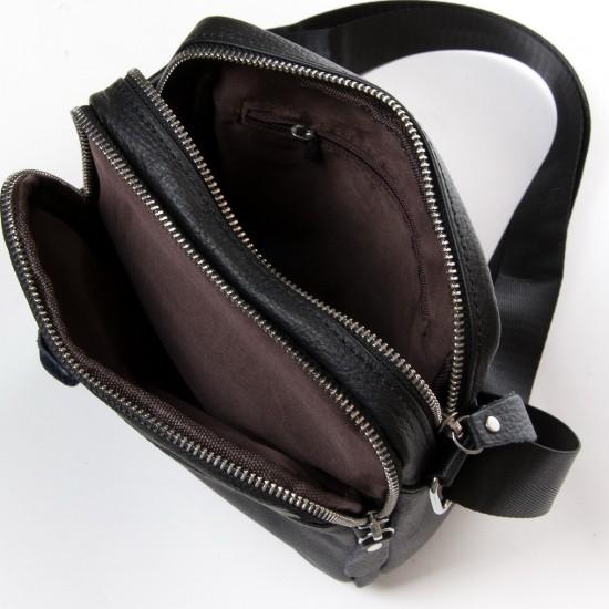 Мужская сумка-планшет из натуральной кожи dr.Bond 8017 черный