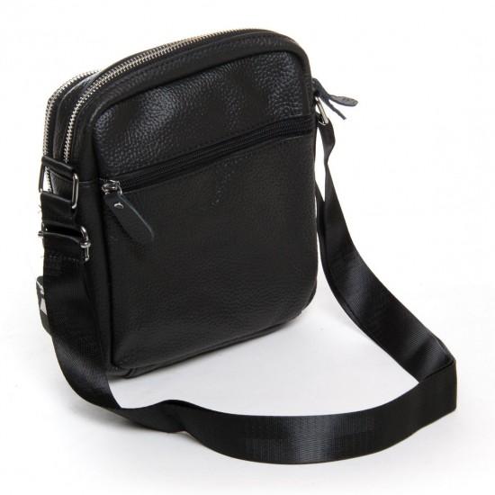 Мужская сумка-планшет из натуральной кожи dr.Bond 6625 черный
