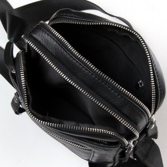 Мужская сумка-планшет из натуральной кожи dr.Bond 20108 черный