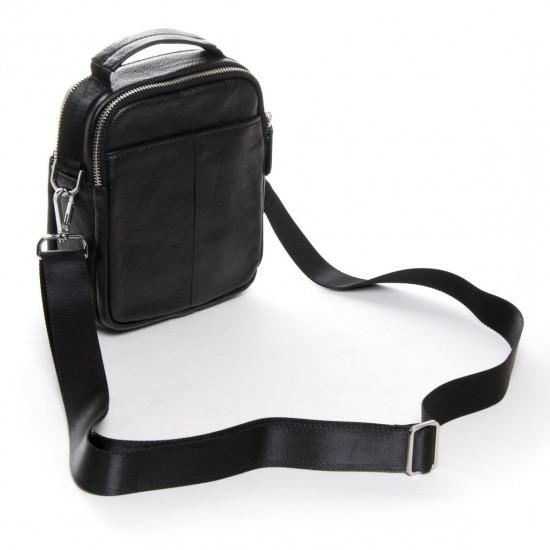 Мужская сумка-планшет из натуральной кожи dr.Bond 20811 черный