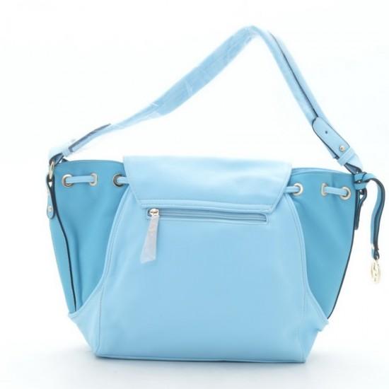 Жіноча модельна сумка FASHION T1102 блакитний