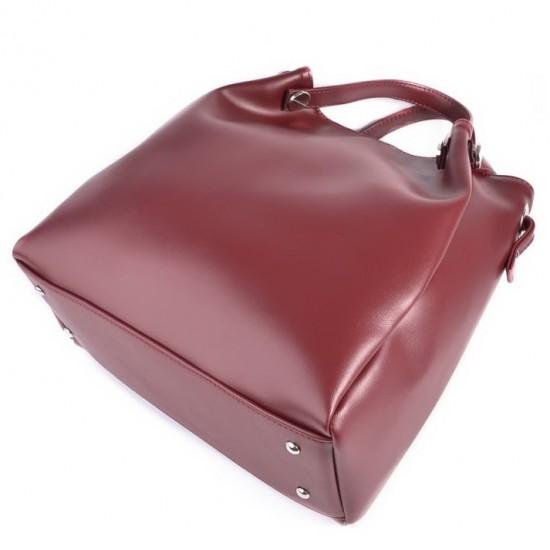 Жіноча модельна сумка LARGONI 130 бордовий