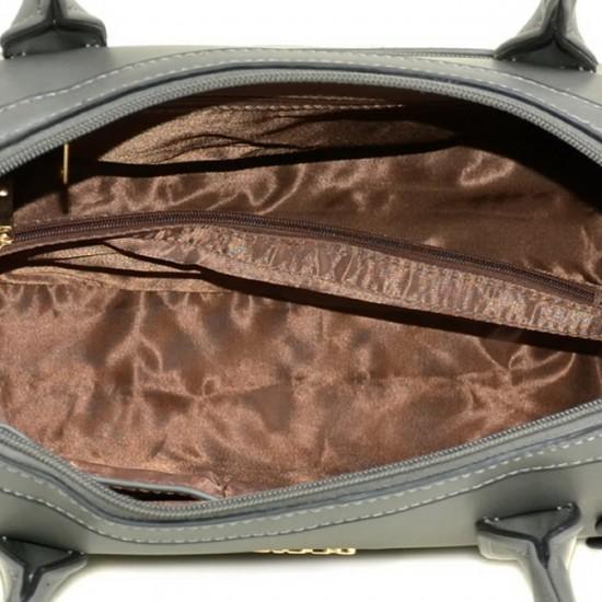 Жіноча модельна сумка FASHION 89495 сірий