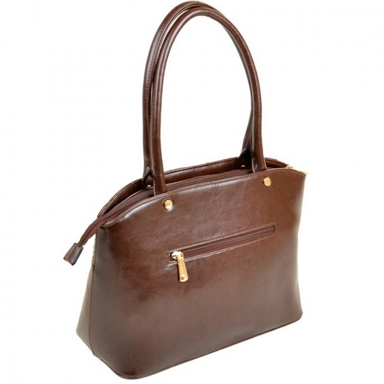 Жіноча модельна сумка FASHION 89585 коричневий