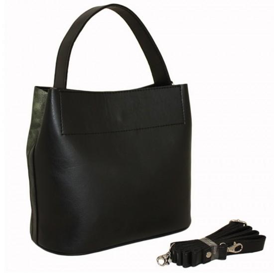 Женская модельная сумка LUCHERINO 516 зеленый