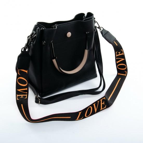 Жіноча модельна сумка FASHION 1 053 чорний