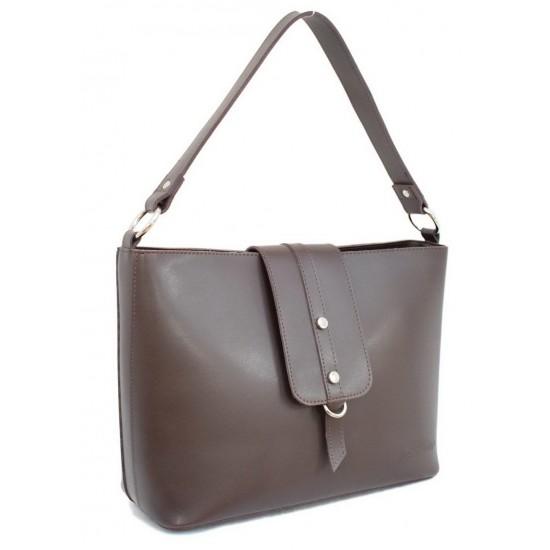 Жіноча модельна сумка LARGONI 568 шоколадний