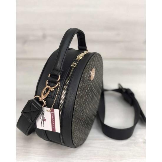 Жіноча модельна сумочка WELASSIE Бріджит чорний