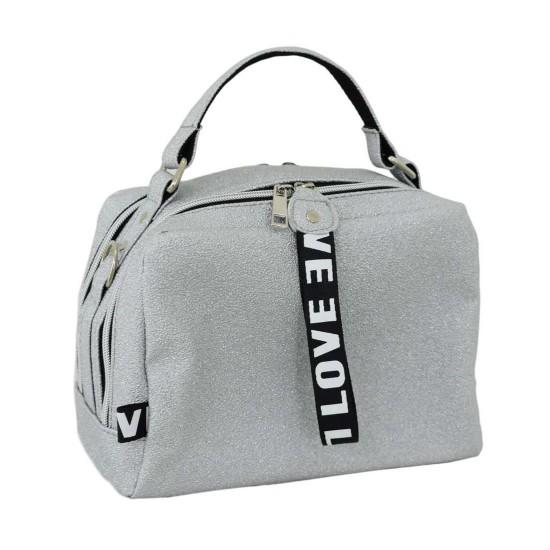 Женская модельная сумочка LUCHERINO 649 серый