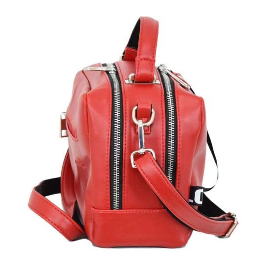 Женская модельная сумочка LUCHERINO 649 красный