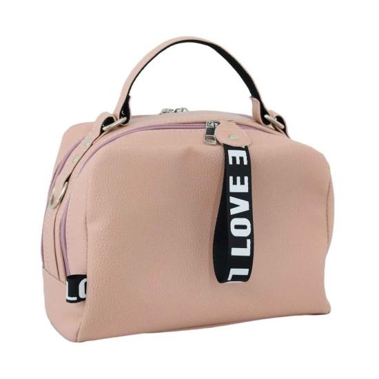 Женская модельная сумочка LUCHERINO 649 пудра