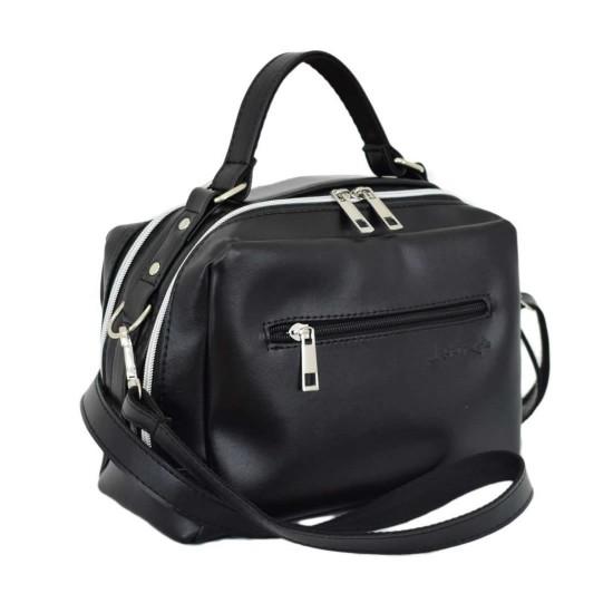Жіноча модельна сумочка LUCHERINO 649 чорний