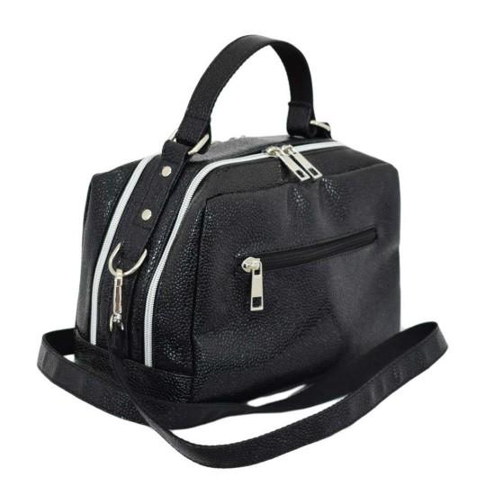 Женская модельная сумочка LUCHERINO 649 черный икра