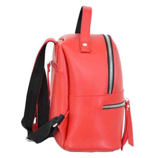 Жіноча рюкзак LUCHERINO 653 червоний