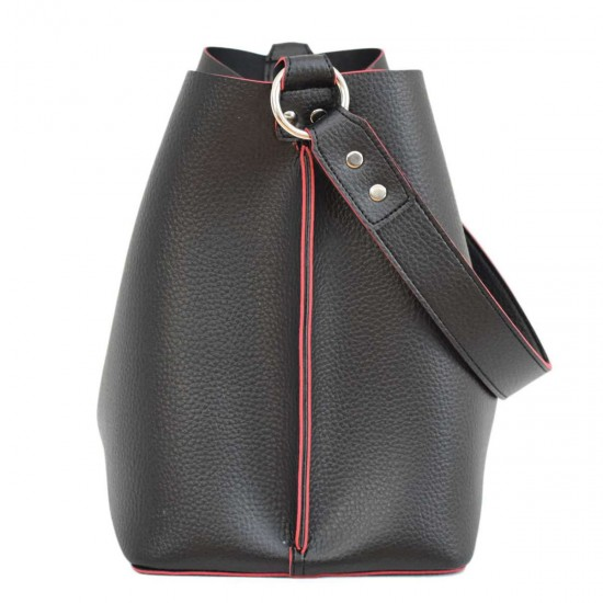 Жіноча модельна сумочка LUCHERINO 573 чорний